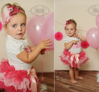 Wholesale+New 2014 Summer Children girls Clothing Set,baby & kids clothing (T-shirt+skirt),birthday girl wear,party clothes,hot