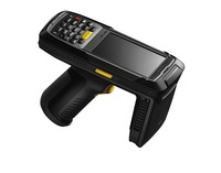 Android  3G Handheld computer,UHF RFID reader, Gun-style ,handheld data collect terminal,cattle management system,UHF  Ear label