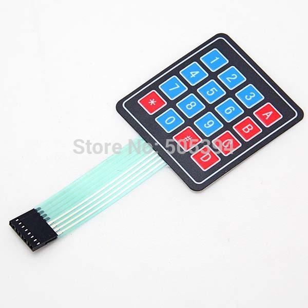 New 4*4 Matrix Array/Matrix Keyboard 16 Key Membrane Switch Keypad for arduino(China (Mainland))