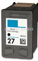 free shipping 1 PK inkjet cartridge for HP 27 HP27 black ink cartridge C8727A for HP DJ 3320/3323/3325/3420/3425/3550/3650