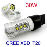 Free Shipping LED Cree Chip High Bright  T20 30W DC9-24V  Turn Signal Light  Fog LightBulb Lamp