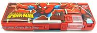1pcs Kawaii Cute School Supplie Spiderman Spider Man Spider-Man Pen Box Pencil Case For Boy Birthday Gift Idea Children's Day