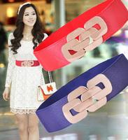 Royal cummerbund female all-match elastic wide belt bohemia wide strap width 6.5cm