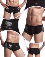 Men's Boxer Briefs Hot swimming Trunks Tether Men's sexy Boxers Beach shorts Swimwear