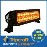 New Arrived ! 36W Amber LED Light Bar 12V IP67 Flood Or Spot beam For 4WD 4x4 Off road Light Bars TRUCK BOAT TRAIN BUS 2pcs/lot
