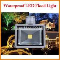 10W 20W 30W 50W PIR Motion Sensor Outdoor LED Floodlight Warm White Cold White Waterproof IP65 Landscape light motion sensor