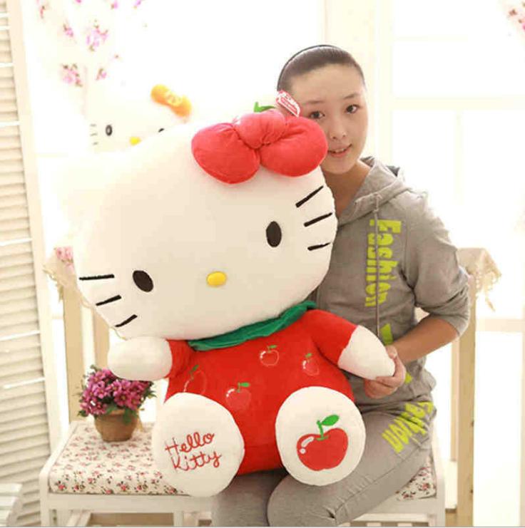 Fruit hello Kitty doll hello Kitty dolls hello Kitty plush toys(China (Mainland))