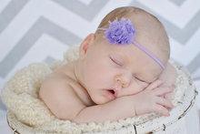 wholesale chiffon flower headband