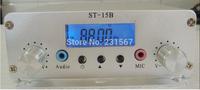 Hot sales! 1.5W/15w pll FM transmitter FMU SER ST-15B with franquency range 87MHz~108MHz
