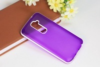 1pcs New Arrival Ultra Thin Matte PC + TPU Gel Soft  Silicone back case skin cover For LG Optimus G2 D802