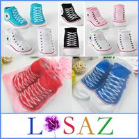 2 Pairs /Lot Newborn Cotton Baby Socks Infant Girls Sock Baby & Kids Indoor Shoes Kids Accessories