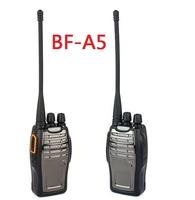 BF BF-A5 cheap Walkie Talkie FM Radio UHF 400-470 MHz 16CH VOX Bright Flashlight Two Way Radio