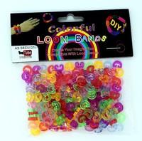 240 pcs/package Colors S/C clips for diy loom bands bracelet wholesale colorful S/C clips 6color mixed random send