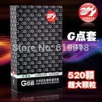 Authentic Pleasure Up medical G-spot  condoms,520big particle fiber thin condoms sex/adult products,penis sleeve 10pcs/lot