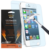 Free Shipping Buff Shock Ultimate Shock Absorption Screen Protector for iPhone5 5s front and back