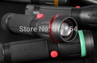 Free shipping, Mini Cree Led Flashlight Torch Adjustable Focus Light Lamp