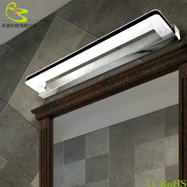 pré- moderno espelho levou luzes led indoor 7w lâmpada de parede do banheiro 630lm 85-265v espelho de painel led parede luz frete grátis(China (Mainland))