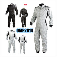 OMP new car / kart / drift piece racing suits ( two layers of cotton fabric is not flame retardant )