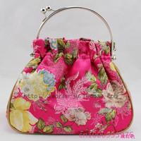 Free shipping!10 PCS Fashion buckles handbag Ms printing jewelry bag