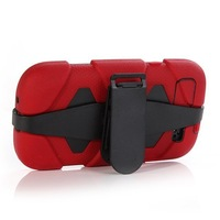 5PCS Heavy Duty Shock Proof Tough Case for Samsung Galaxy S3 i9300 Belt Clip Holster Free Shipping