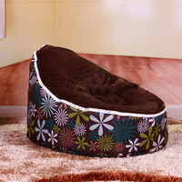 Baby beanbag sofa chair Baby seat toddler kids sofa bed Free shipping with filler baby bean bag chair to very cheapest  filling
