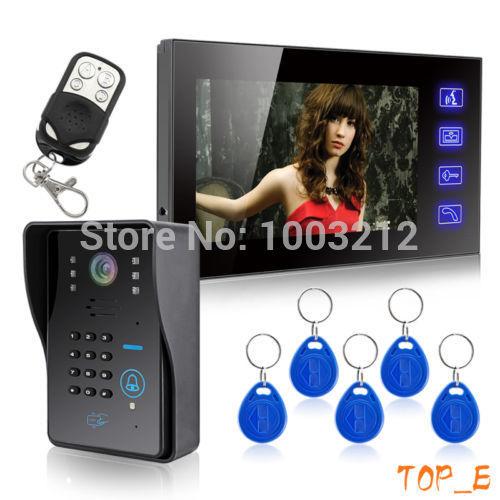 Видеодомофон HK 7 Lcd Wth & HK-806IDS