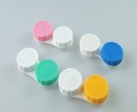 HOT SALE Free shipping color contact lens cases for Freshlook lens good quality 100% brand new (100pcs/lot)mix colors