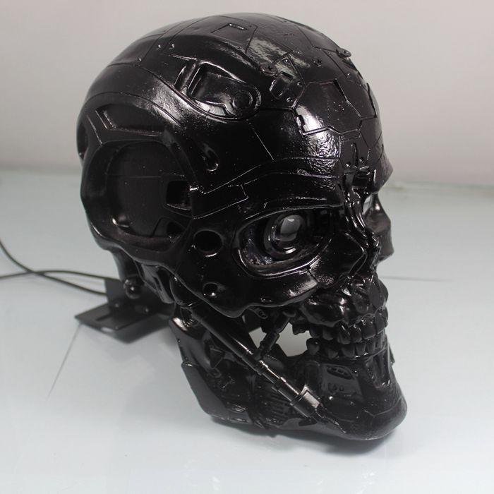 Motorfiets prestaties schedels terminator koplen kopl