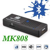 Original MK808 Bluetooth MK808B RK3066 Dual Core Andriod TV Box 1GB RAM 8GB ROM Mini PC Dongle HDMI RK903 WIFI Android TV Stick