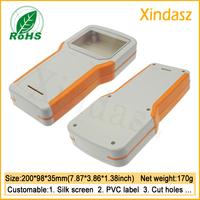 200*98*35mm handheld plastic enclosure manufacturers handheld outdoor plastic enclosure handheld project boxes