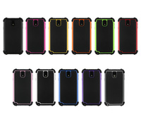Wholesale 100pcs/lot New SHOCK PROOF TRIPLE LAYER 3 in 1 Combo Hard Soft Back Cover Skin Case For Samsung Galaxy Note 3 N9000