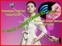 Monopod Telescoping Self-Rod for Camera /Phone & Bluetooth Shutter Remote for iPhone Samsung HTC  iOS /Andriod &Universal shelf