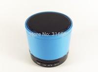 Free Shipping Portable mini speaker LED light flash speaker Wireless Bluetooth small speaker with TF slot FM microphone blue