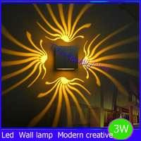 Free shipping 2014 New LED Modern led wall Light Aluminum 3W for Aisle Bedroom Corridor Porch , Background Light  RoHS CE