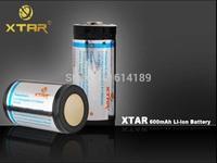 XTAR 16340 3.6V 600mAh Protected Li-ion battery with PCB