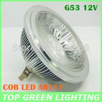 Promotion COB LED AR111 QR111 Spot Light Bulb 10W 15W LED COB AR111 G53 12V LED Lamparas QR111 ES111 G53 Lampada LED 12 Volt