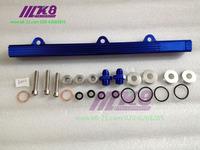 Fuel Rail Kit Mitsubishi EVO 1-3 / VR-4 CNC Billet Aluminium
