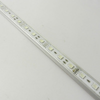 free shipping 5pcs 50cm 30 SMD 5050 RGB LED Rigid strip Glue waterproof car/table light
