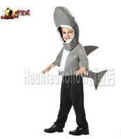 Halloween Haunted hollow, lowe creative animal children's performances The shark costume E1471