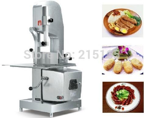 JG-310 bone sawing machine for meat, bone processing machinery,kitchen sawing machine(China (Mainland))