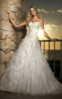 2014 Trend Wedding Dress New Style Custom-Made All Size And All Color Free Shipping #5671