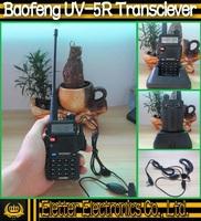 original BAOFENG UV-5R walkie talkie VHF136-174MHz & UHF400-520MHz UV5R dual band dual display walkie talkie with retail box