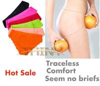 Hot Original New Top DuPont Ultra-thin Women Seamless Traceless Sexy lingerie Underwear Panties Briefs plus Size S M L XL