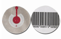 Hot sale for Rf circular soft lable , EAS Anti theft label no barcode1000pcs Freeshipping anti-shoplifting system