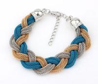 Chic Braided Bracelet Fashion Statement Bracelet 2014  New Bracelet cxt9037