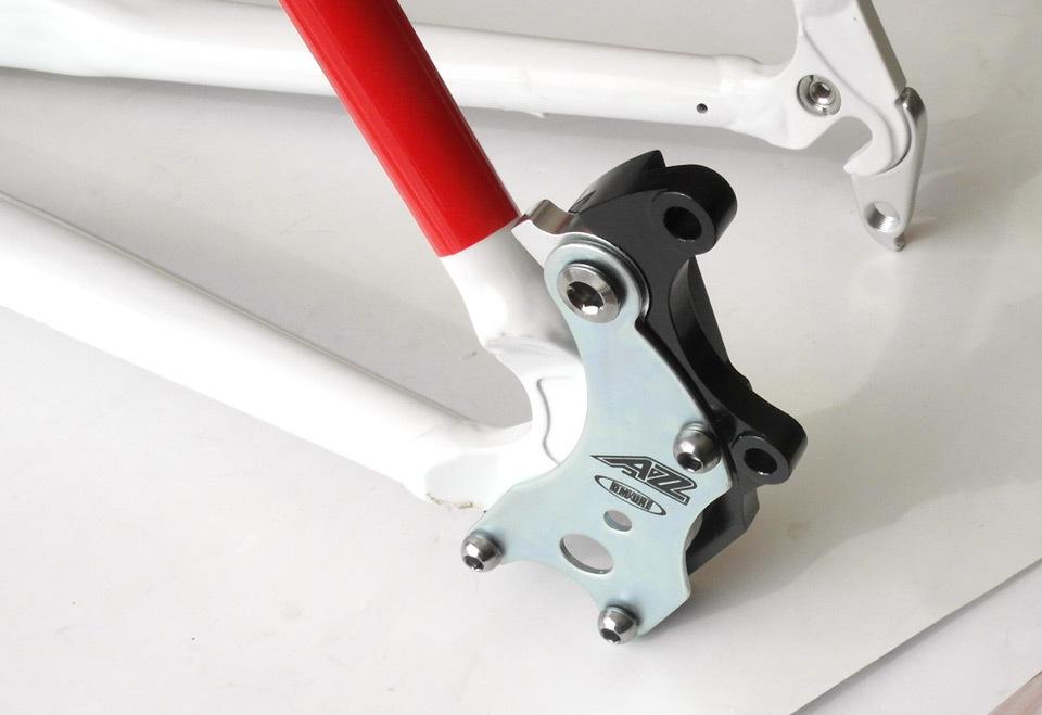 Стандарты крепления дисковых тормозов велосипеда