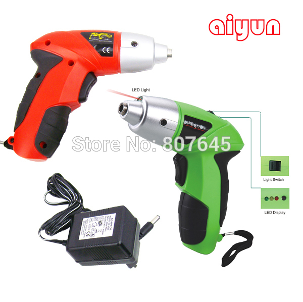 4.8V rechargeable/electric screwdriver /s