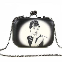 Designer Clutch Famous Brand Women Clutch Chain Gold Clutch Bag Handbags Brand Women Clutch 2014 Free Ship B-201