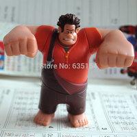 Brand New Disny Pixar Wreck-It Ralph 2 Action Figure Toys Wreck-It Ralph 8CM High PVC Mini Figure Toy For Children's Gift
