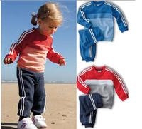 Retail NEW arrive wholesale children sport suit 2 pcs set children cloth brand children clothing sport set children autumn set